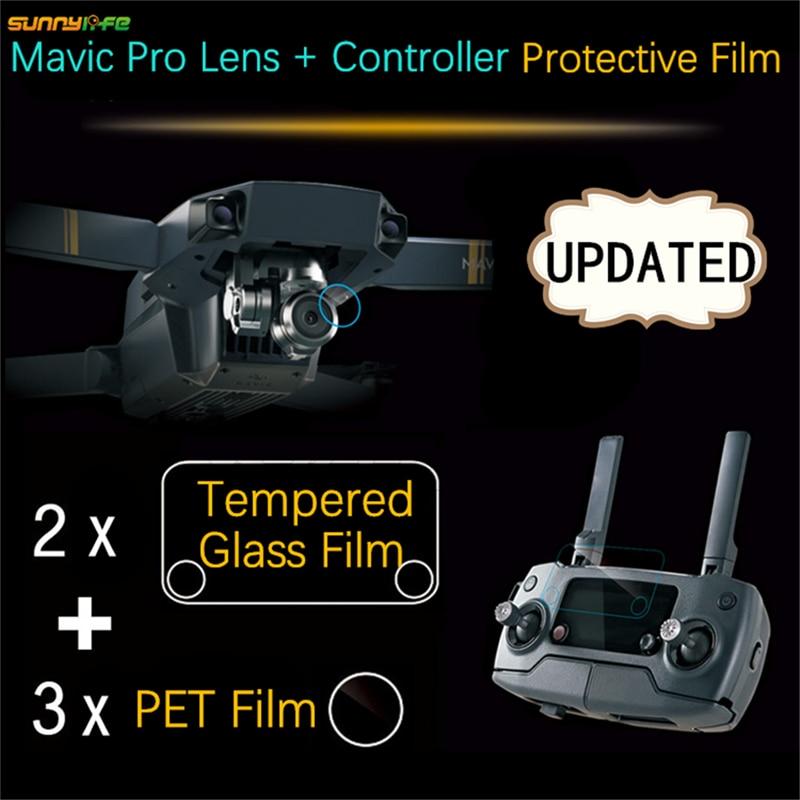 Sunnylife DJI font b Mavic b font font b Pro b font Accessories 3pcs Camera Clear