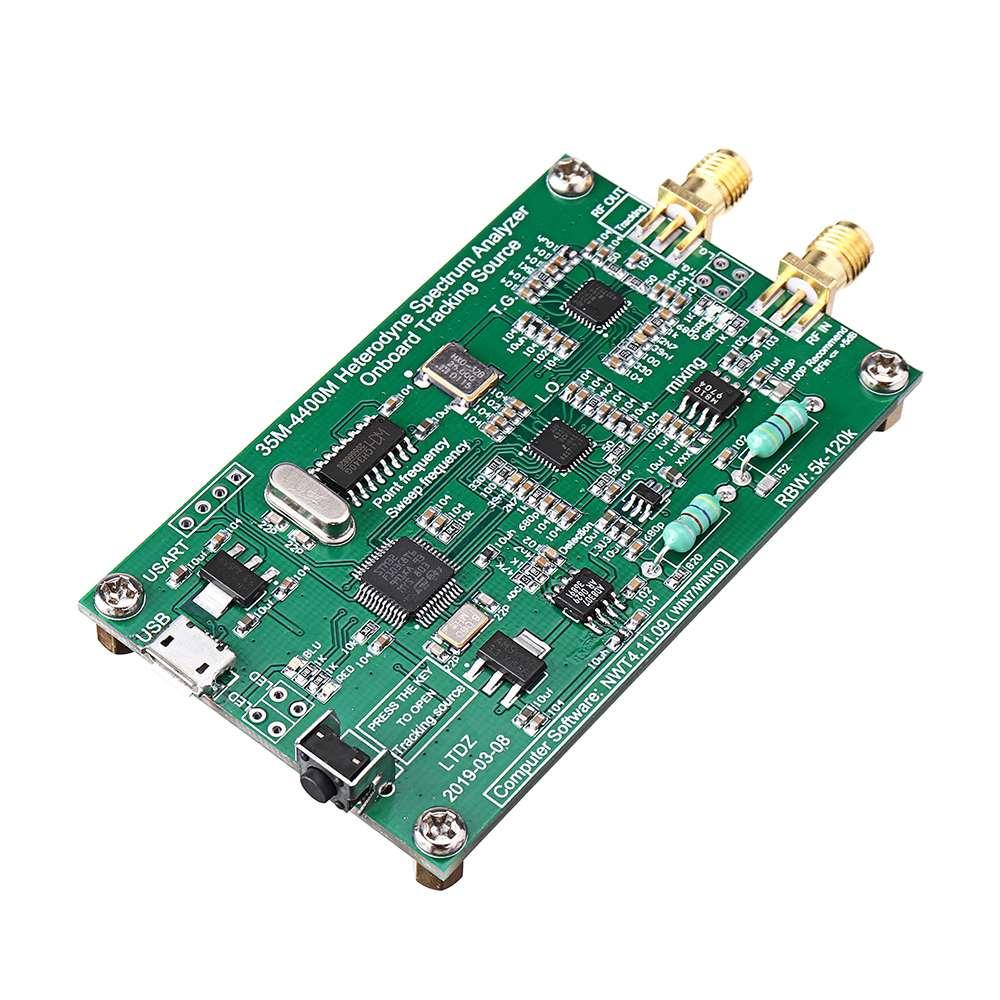 Analyseur de spectre USB LTDZ_35-4400M_Spectrum Source de Signal avec Module de suivi