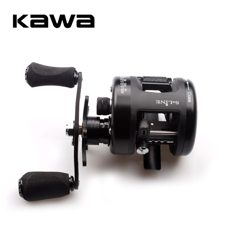 KAWA Cast Drum Wheel, K350 Type Lure Wheel, Bait Casting Reel, Right Hand,High Quality, Sea Fishing Wheel, Free Shipping right hand drum reel lure cast wheel bait casting reels boat fishing 12 1bb 2000 3000 4000 5000