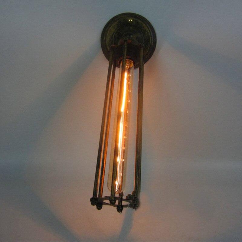 Eisen Lampe kreative persönlichkeit vintage eisen lampe abdeckung wand lampe