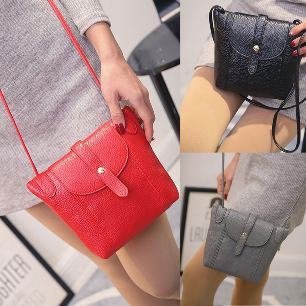 Women Leather Handbags Famous Brand Small Women Messenger Bags Female Crossbody Shoulder Bag Mini Clutch Purse Bag Candy Color  women brand 2017 cactus shoulder bags girls cute novelty funny bag leather handbags mini crossbody bags design clutch messenger