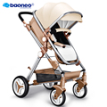 European Luxury Baby Stroller High View Prams Folding Poussette Kinderwagen bebek arabas Russian wholesale new luxury