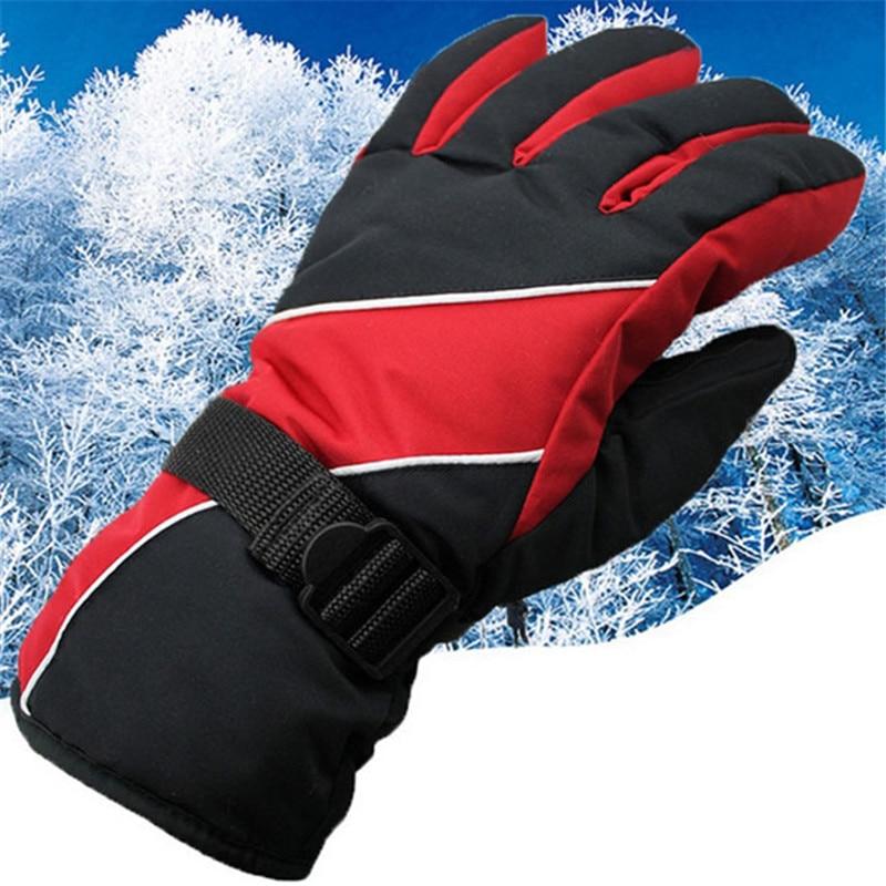 Skiing font b Gloves b font Winter Sports Windstopper Waterproof Skiing font b Gloves b font
