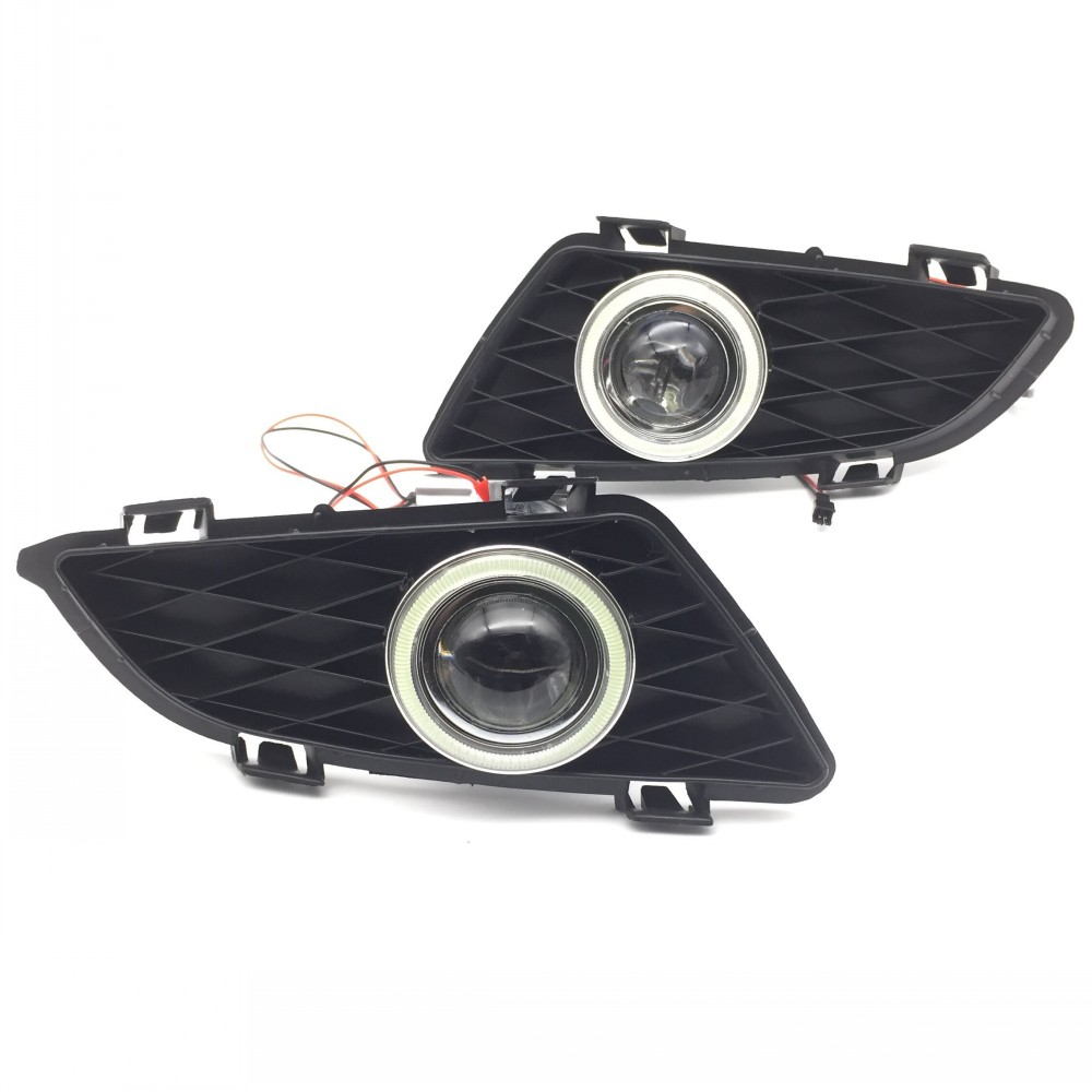 eeMrke LED Angel Eye DRL PENTRU Mazda 6 2003-2008 Lumini de zi H11 - Faruri auto - Fotografie 2