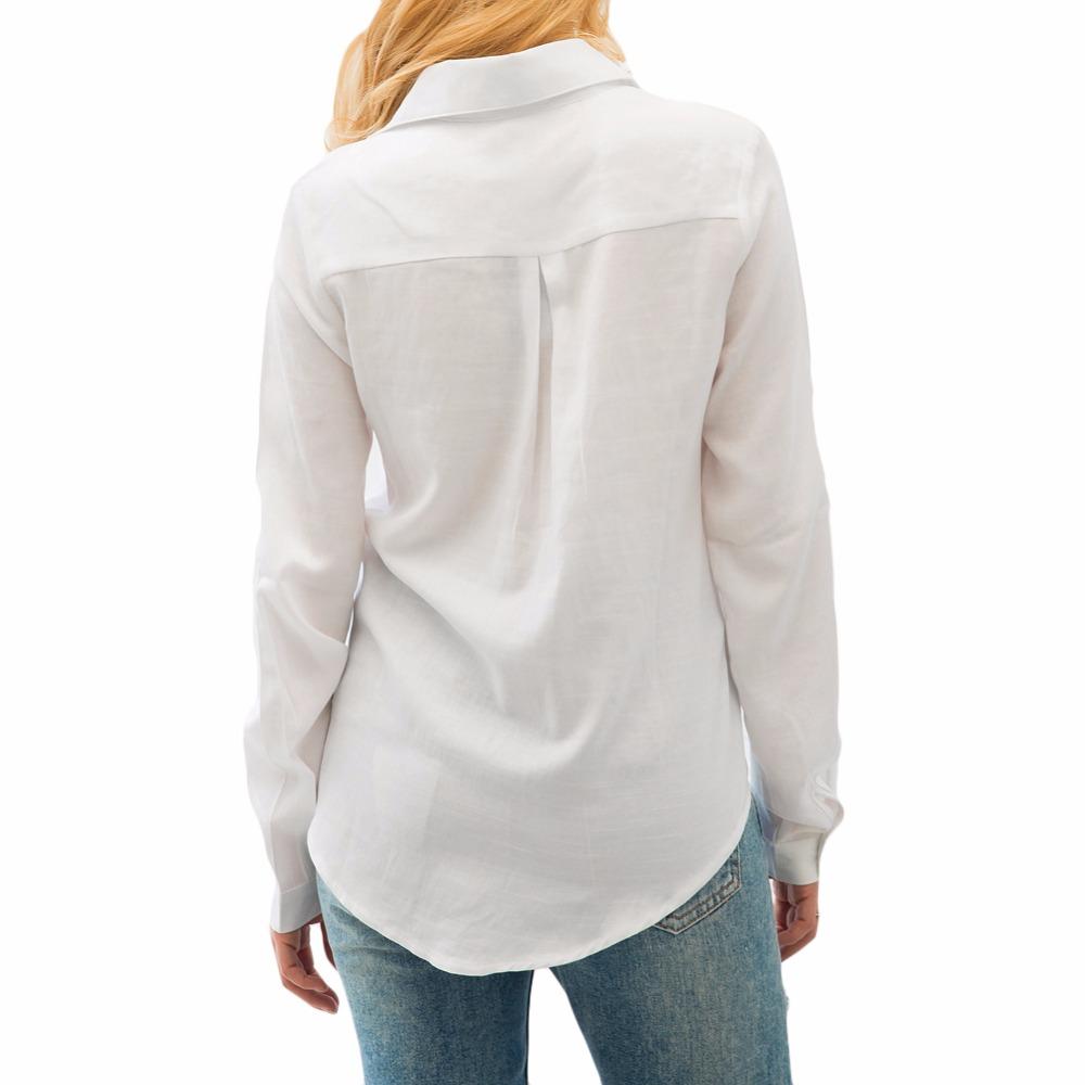 HTB1LU6PSpXXXXbAaXXXq6xXFXXXW - 2017 Autumn Solid Long Sleeve Pocket Shirt Women Casual