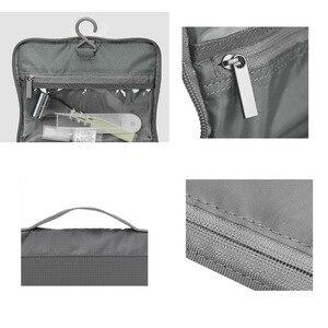 Image 5 - 샤오미 Mijia 90Fun 여행 가방 휴대용 나일론 패브릭 발수 대형 U 모양의 오프닝 디자인 하프 넷 스토리지 가방