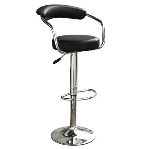 Swivel Counter Stool Bar Stool High Chair Black Kitchen: Black & Chrome Swivel Bar Kitchen Breakfast Stools Chair