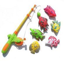 Удочки, ребенка/малыша поставляется магнитного образования весело рыбы обучения спорта игрушка рыбалка