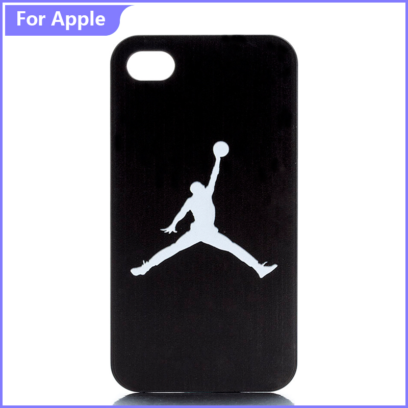 Case iPhone 4 4S 5 5S 5C 6 SE Sport Basketball Cool Black Back Style Printed Hard Plastic Protective Phone Cover  -  FashionPhoneCase store
