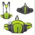 6 cor homem bolso cintura mulher escalada & Bicicleta esportes de montanha & Correndo movimento bolsos sac à prova d' água saco da cintura