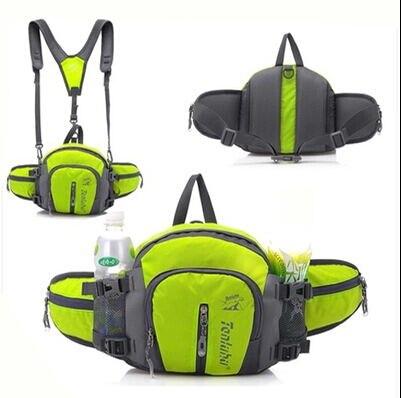 97b3d348b7d5d Spor çanta tırmanma ve Bisiklet & Koşu hareketi cepler su geçirmez 6 renk  adam bel çantası