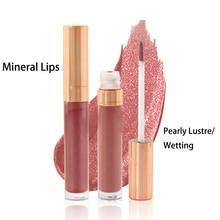 New Arrival 6 Colors Rose gold circle Lip Gloss Liquid Lipstick Moisturizing Tattoo Cosmetics