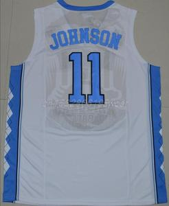 5c693df55fb Mens  11 Brice Johnson North Carolina Tar Heels College Basketball Jersey  Size S-XXXL