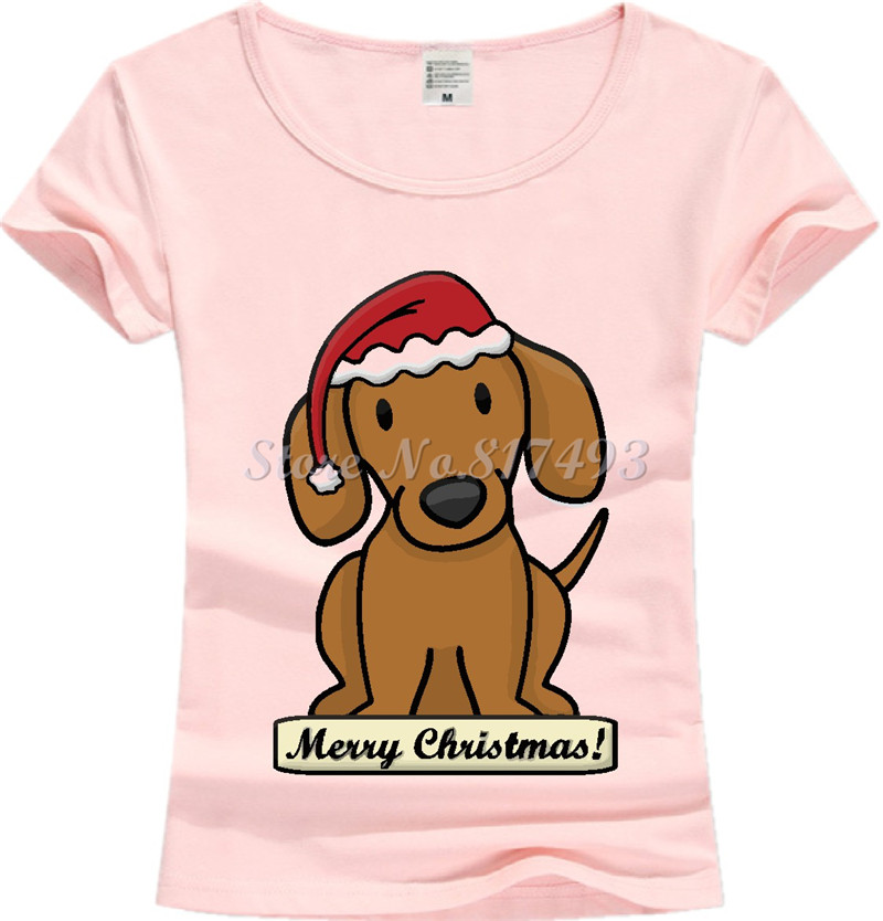 3e1e0a3d29 Dachshund New Fashion Print T shirt Women 2017 Cotton Short Sleeve O Neck  Tops Female Tees Shirts Hipster Clothing JD02-in T-Shirts from Women's  Clothing ...