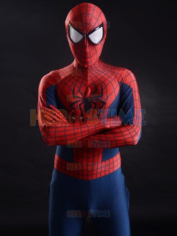 Increíble traje de Spider-Man 2, el más popular, rojo y azul, - Disfraces - foto 1