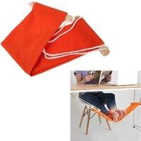 Neue Büro Fußstütze Stand Füße Hängematte Einfach zu Demontieren Studie Indoor Orange 60*16 cm Heißer Verkauf