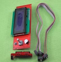 Fast Free ship 10pcs/lot New 3D printer Reprap Ramps 1.4 2004 LCD intelligent controller LCD display LCD Module
