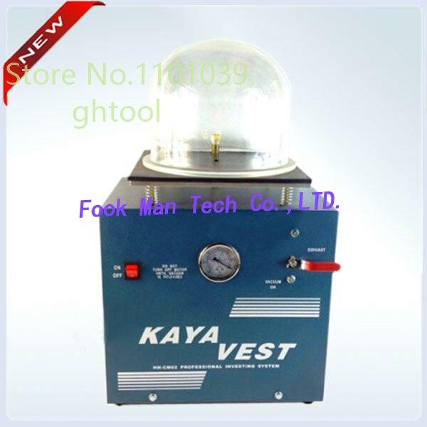 Livraison gratuite bijoux faisant la Machine 220 V KAYA gilet Mini Machine de coulée sous vide Machine prix ghtool