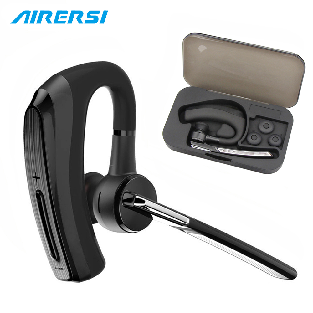 BH820 Business Bluetooth Earphone Wireless Headset stereo Handsfree HD Mic Noise Cancelling Car call Bluetoot Headphones & Boxes airersi k6 business bluetooth headset smart car call wireless earphone with microphone hands free and headphones storage box
