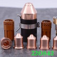 105A plazma kesme makinesi parçaları elektrot 220842 memesi 220990 220816 220819 220941 220930 koruyucu bone 220818 220993
