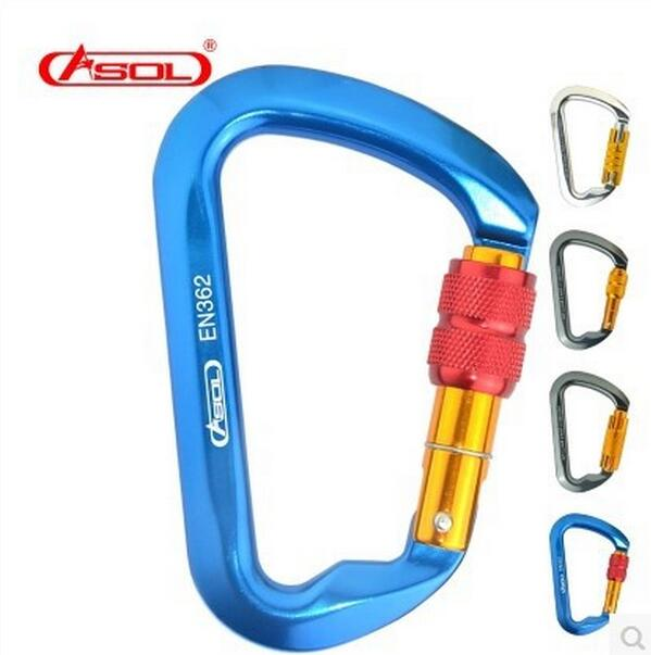 Clip Art Rock Climbing Clip rock climbing clips reviews online shopping brand asol 24kn 30kn d shaped carabiner safety hanging buckle mousqueton karabiner locking clip camping sport