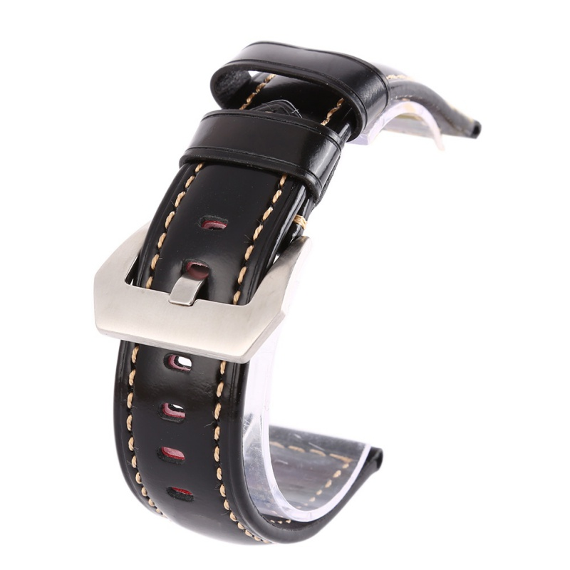 Leather Watchbands Men Women Watch Band Strap for Belt Stainless Steel Buckle 20 22 24 26mm