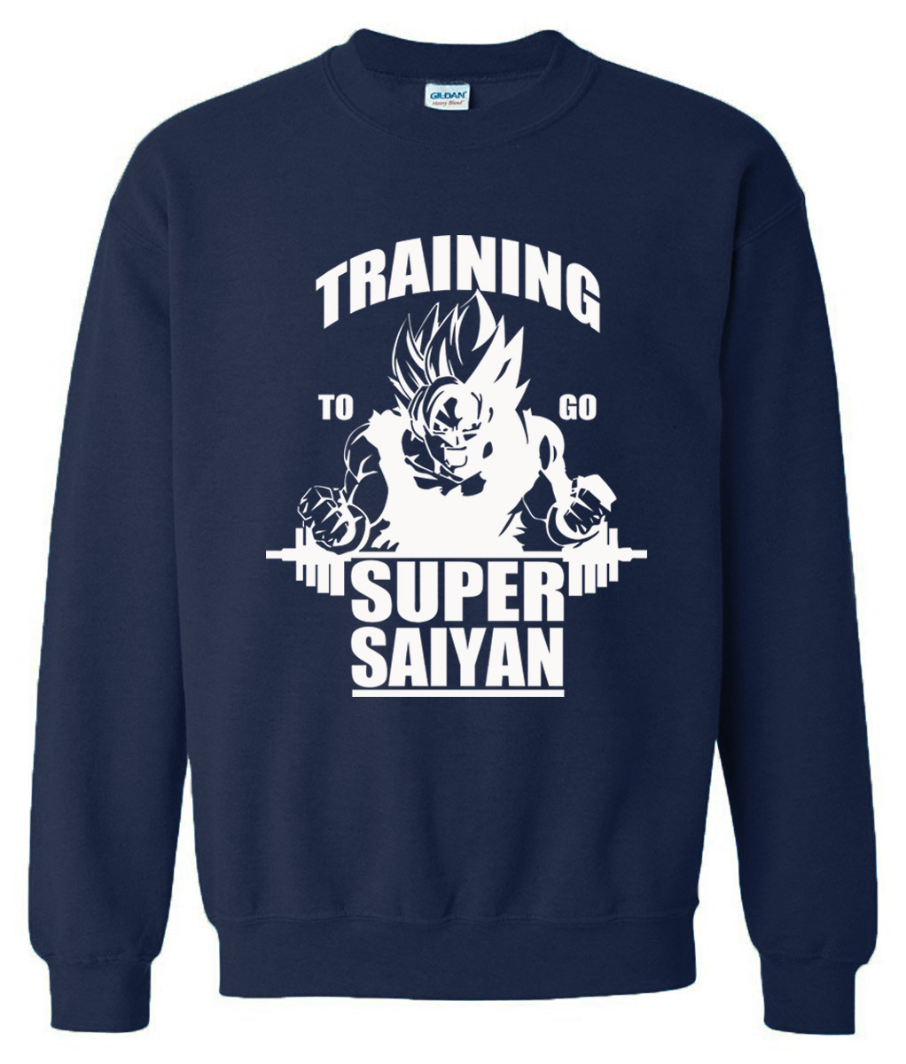 Dragon Ball Training for super saiyan Sweetshirts