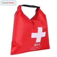 1.2L su geçirmez ilk yardım çantası çantası taşınabilir acil durum uyarı kitleri sadece açık kamp için seyahat acil tıbbi tedavi