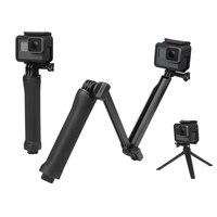Shoot Original 3 Way Mount Tripod Monopod 58cm Waterproof Flexible Assembly Selfie Stick For GoPro HERO