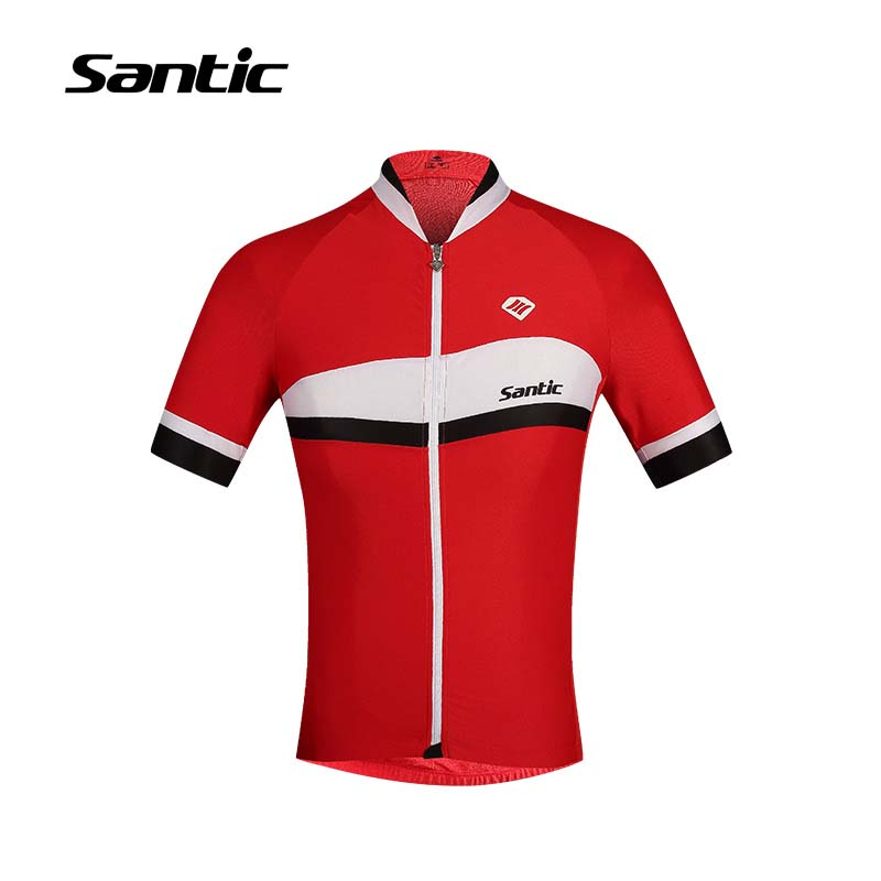 Santic Summer Cycling Jersey Men 2017 PRO Team Racing Jersey Skinsuit Short Sleeve Downhill MTB Bike Shirt Road Bicycle Clothing santic men short sleeve cycling jersey breathable summer cycling clothing mtb road downhill bicycle bike jersey anti sweat