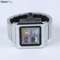 New Metal Aluminum Wrist Watch Band For Apple IPod Nano 6 Case 6th Generation Iwatchz Classic