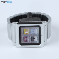New Metal Aluminum Wrist Watch Band For Apple IPod Nano 6 Case 6th Generation Iwatchz Classic