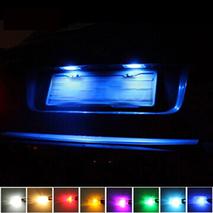 For Opel Combo Tour Movano Omega B Caravan Zafira A (F75) SCOE New 2X 3SMD 5050LED License Plate Light Bulb Source Car Styling