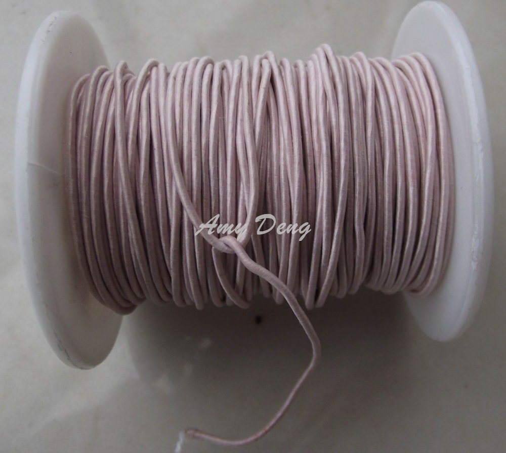 10 Meters/lot  0.1X50 Shares Its Antenna Litz Strands Of Cotton Polyester Envelope Copper