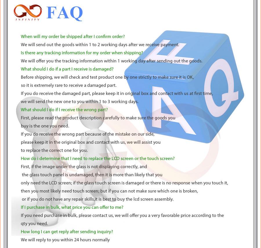 infinity FAQ 6