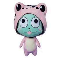 1pcs Big 58cm Kawaii Japanese Anime Cartoon Fairy Tail Happy Plush Toy Pillow Soft Stuffed Toys Doll Kids Girls Birthday Gifts