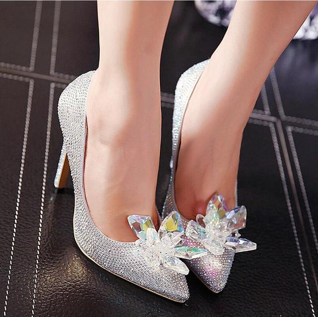 Aliexpress.com : Buy 2016 New Fashion High Heels Pointed Toe High ...