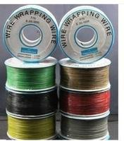 Freeshipping 305 Meters Long Electrical Wire Wrapping Wire High Quality 30awg Ok Line Q9 Electric Cable