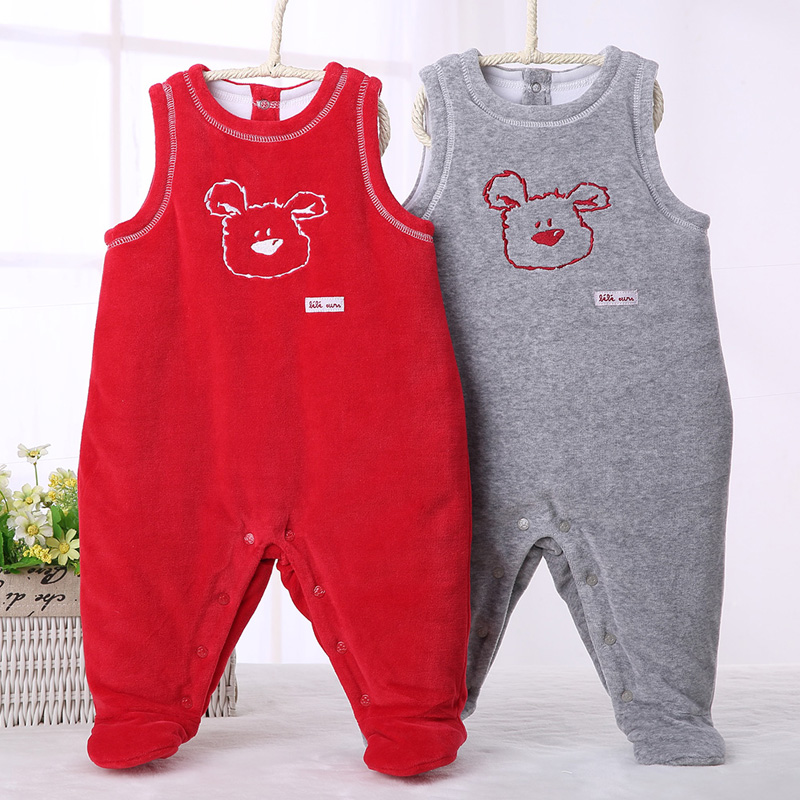 baby clothes pyjamas kids clothes baby rompers sleeveless thick warm baby boy clothes baby girl clothes jumpsuit dungaree