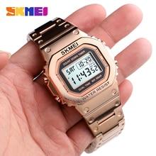 цена на SKMEI Top Brand Men's Watch Waterproof Chronograph Countdown Digital Watch For Men Fashion Outdoor Sport Wristwatch Alarm Clock