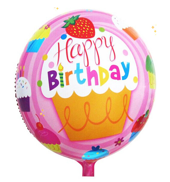 Loyal 18inches Round Birthday Foil Balloons Inflatable Toys Globos Birthday Party Decorations Kids Helium Balloon Event Party Supplies High Quality And Inexpensive Event & Party