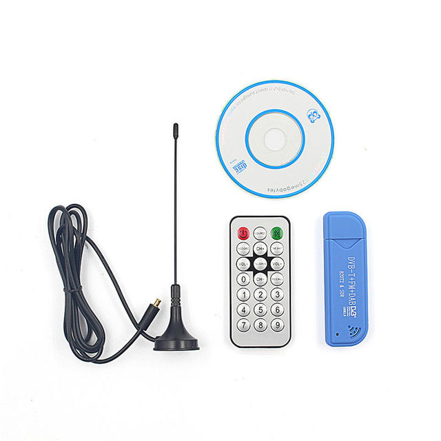Hot Sale USB 2.0 Software Radio DVB-T RTL2832U+R820T2 SDR Digital TV Receiver Stick