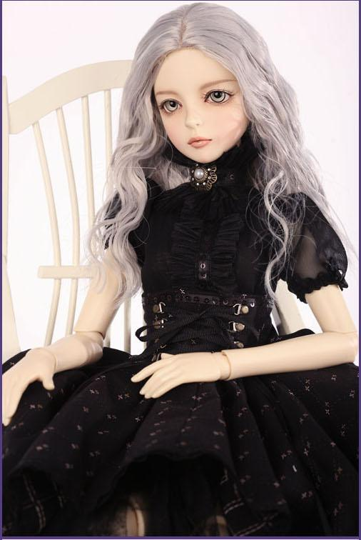 1/3th scale 60cm BJD doll nude with face Make up,DIY Dress up. SD doll girl shall.not included Apparel and wig 1 4 bjd dollfie girl doll parts single head include make up shang nai in stock