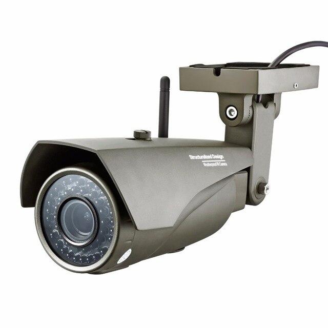 Adjustable focus Real-time 1.0Megapixel 720P waterproof Outdoor Indoor Wireless HD IP Camera WIFI,P2P,Onvif,Audio Camera