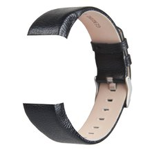 Band For Black Soft Charge 2 Genuine Leather Watch Strap For Charge 2 Replacement Wrist band smart watch band