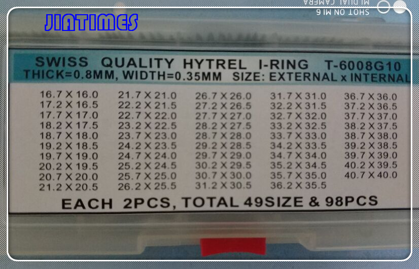 Free Shipping 1 Set 0.8mm Watch Crystal O Ring Gasket Select Sizes цена 2017