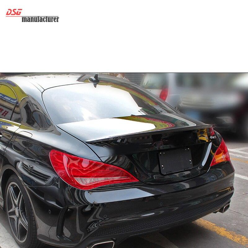 Becquet arrière Mercedes W117 en fiber de carbone pour becquet de coffre de type CLA200 CLA45 CLA250 de classe CLA de benz - 6