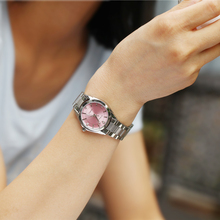 2016 Fashion Women Casual Watches Diamond Crystal Silver Case Elegant Quartz-watch Ladies Wrist Watch relogio feminino