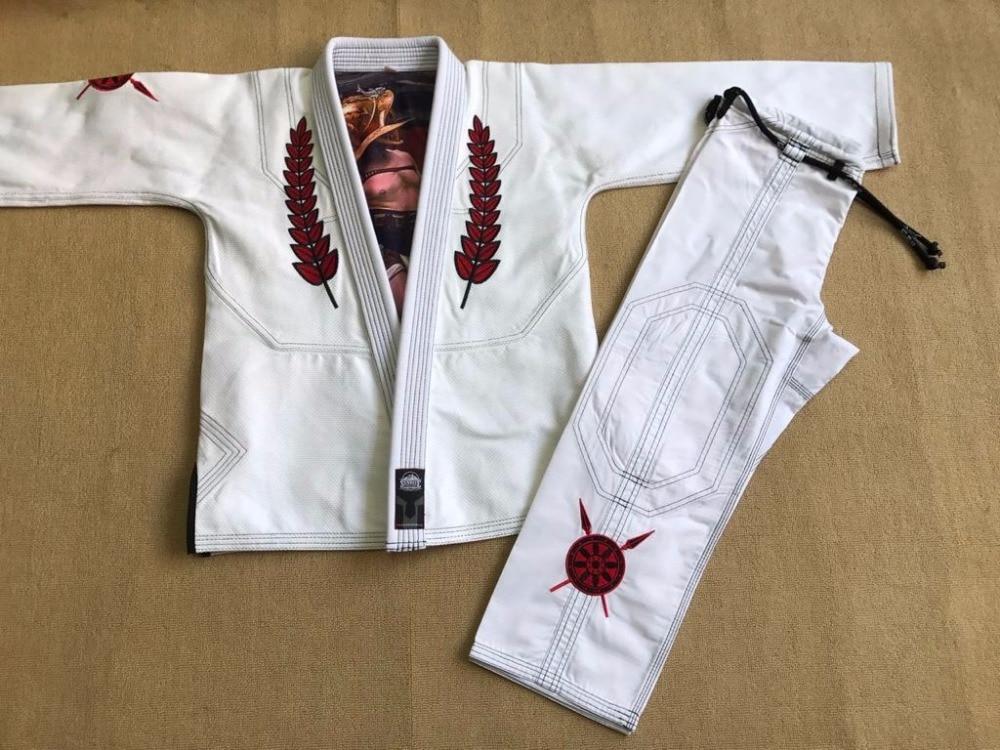 550gram Pearl Weave BJJ gi Sunrise New release Brazilian Jiu Jitsu Blue Gladiator BJJ GI