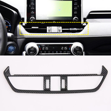 Fit For Toyota RAV4  2019 2020 ABS Car Styling Auto Car Interior Accessories Middle Console Air Vent Outlet Cover Trim 1pcs